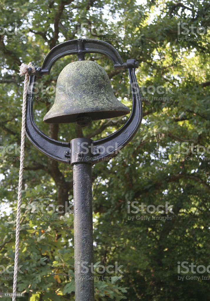 Chapel Bell stock photo