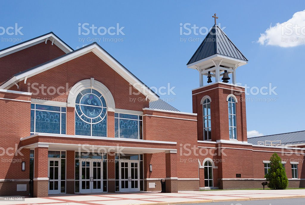 Chapel Entry royalty-free stock photo