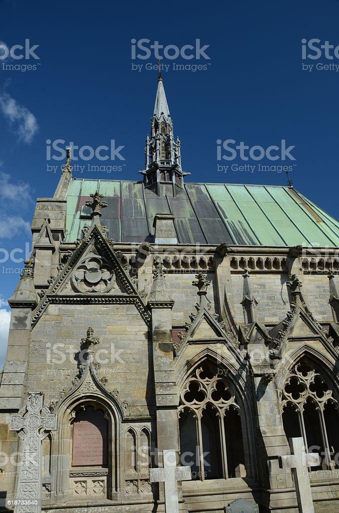 Chapel Exterior stock photo