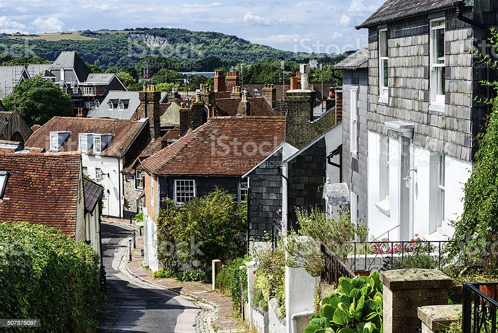 Chapel Hill in Lewes, England stock photo