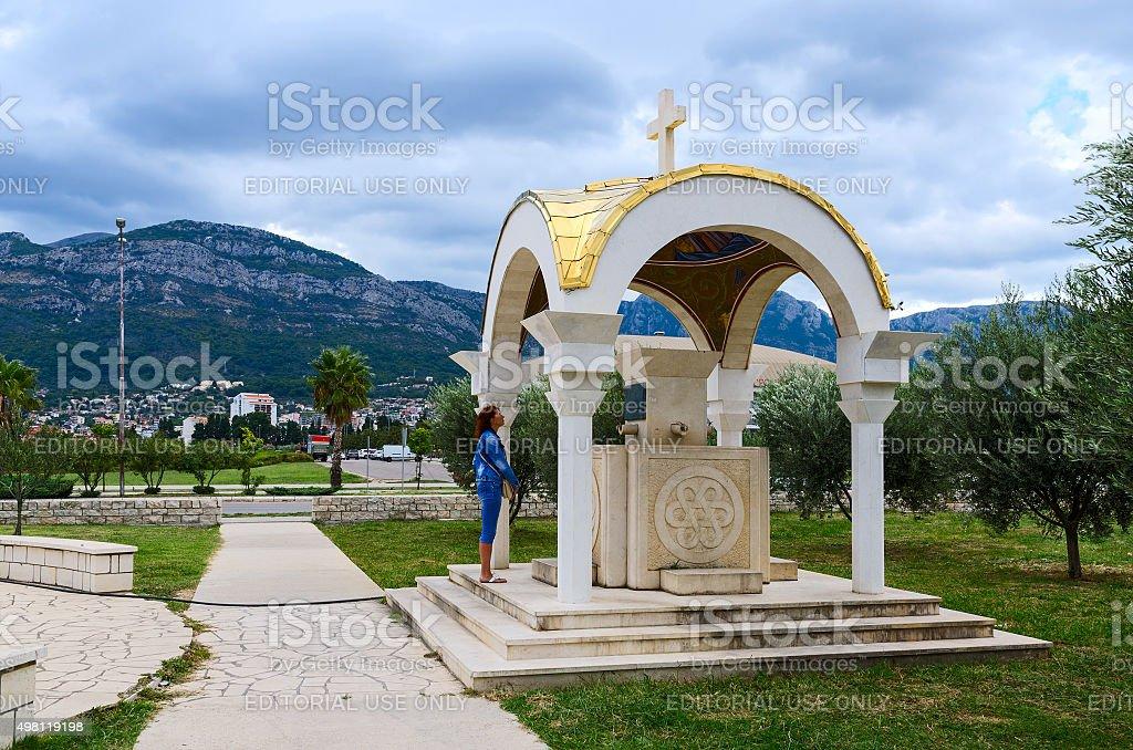 Chapel near Cathedral Church of St. John Vladimir, Bar, Montenegro stock photo