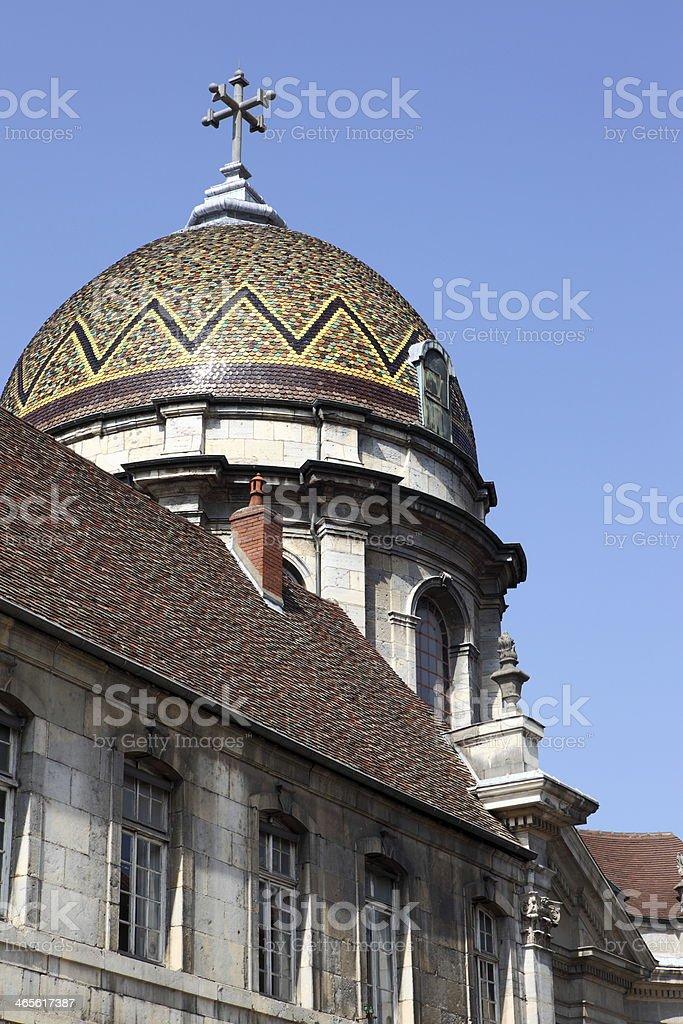 Chapel Notre Dame du Refuge, in Besan?on, France stock photo