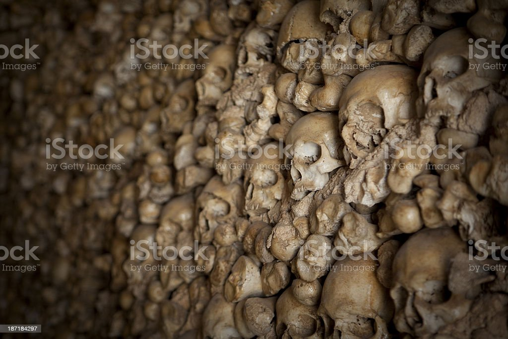 Chapel of Bones in Alcantarilha Portugal stock photo