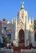 Chapel of Catholic Church in Kanyakumari, Southern India
