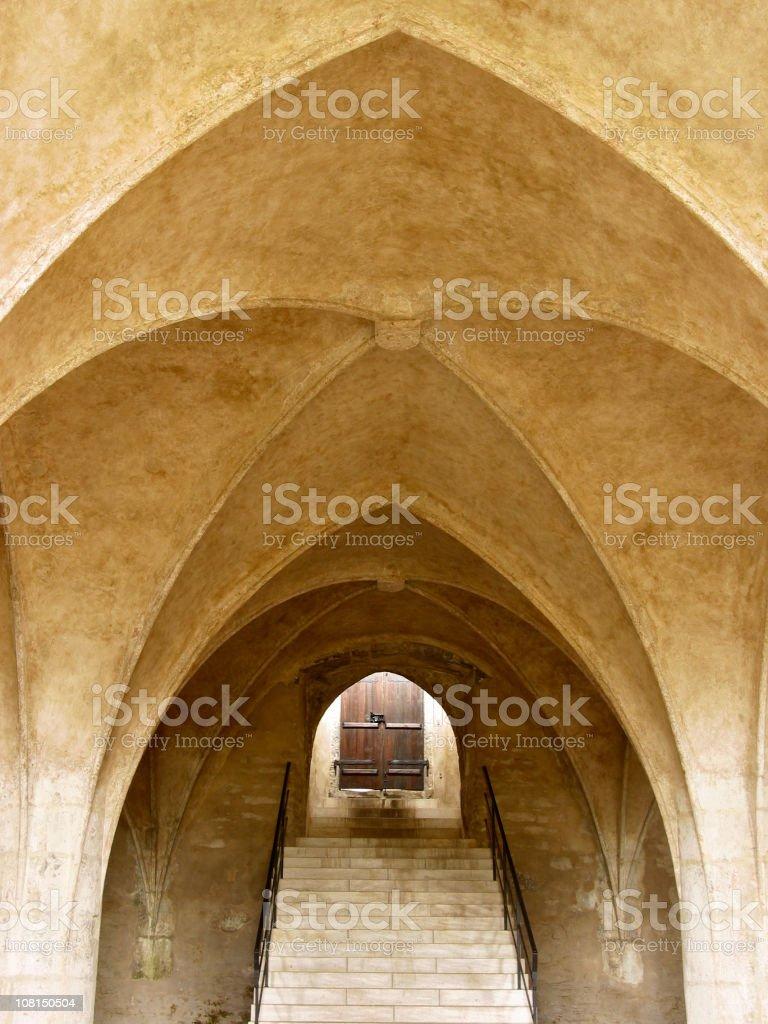 Chapel of Corpus Christi Interior stock photo