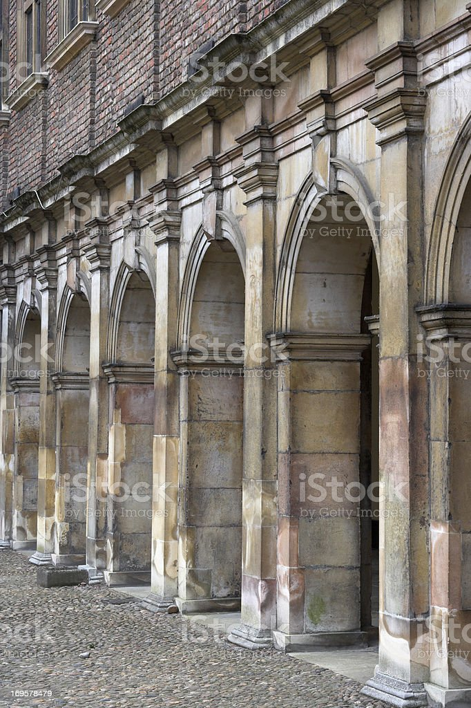 Chapel of King's College royalty-free stock photo