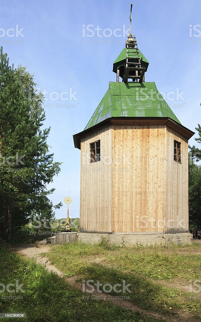Chapel of Old Believers in Omkar royalty-free stock photo