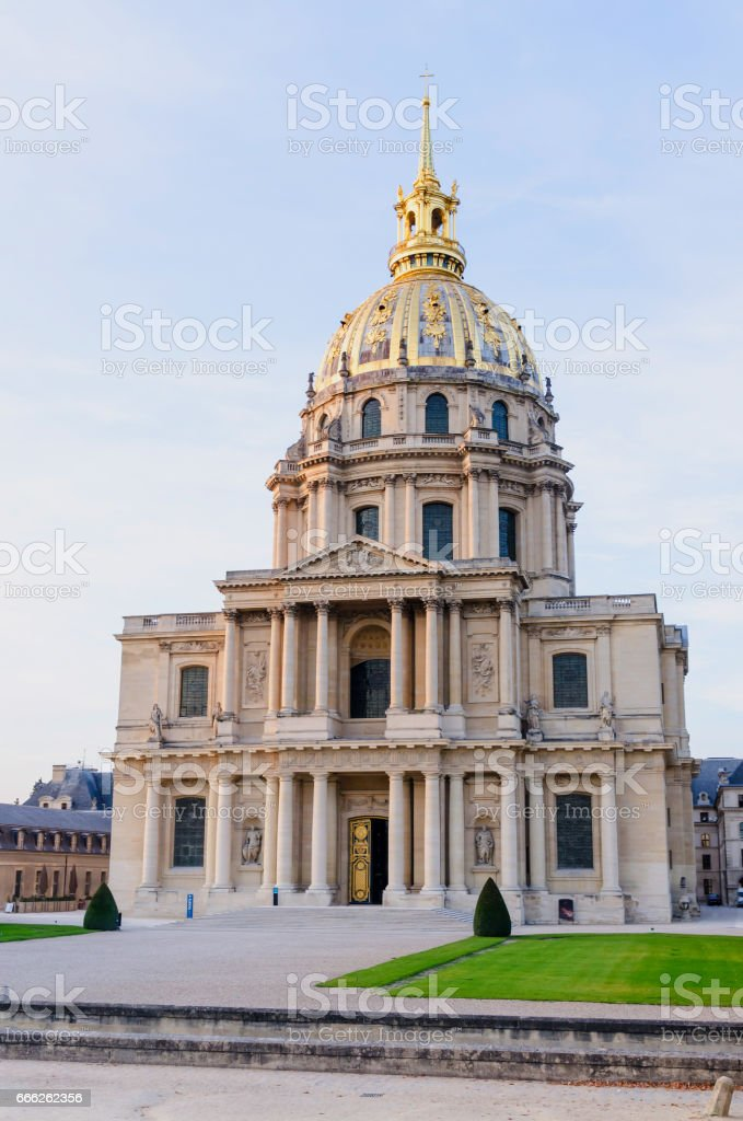 Chapel of Saint Louis des Invalides stock photo