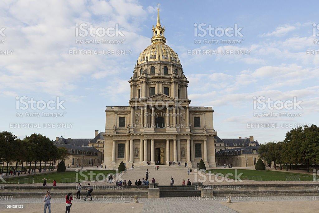 Chapel of Saint-Louis-des-Invalides in Paris, France royalty-free stock photo