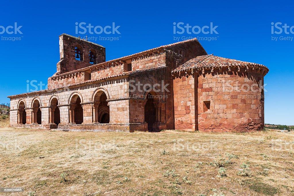 Chapel of Santa María. Soria, Castilla y León, Spain, Europe. stock photo