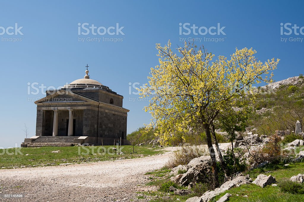 Chapel of St. Francis on Tulove Grede stock photo