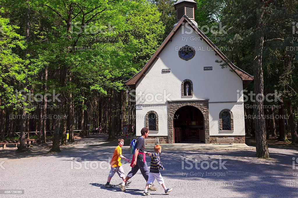 Chapel of St Michel royalty-free stock photo