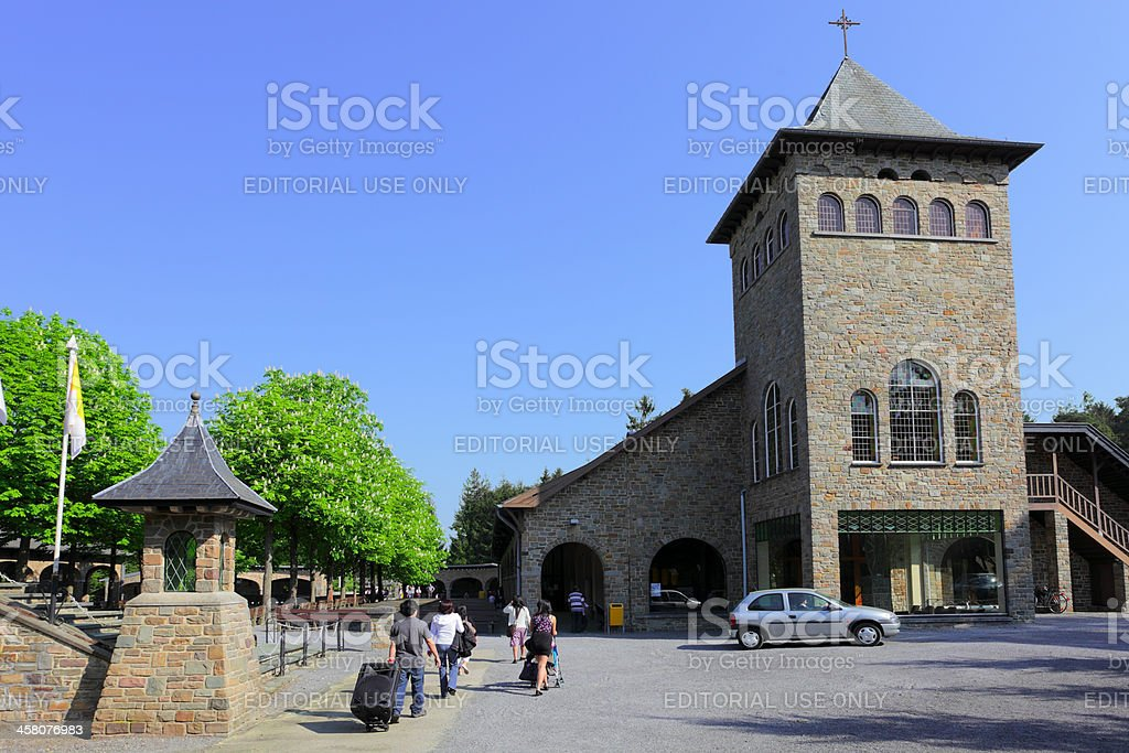Chapel of the Message royalty-free stock photo