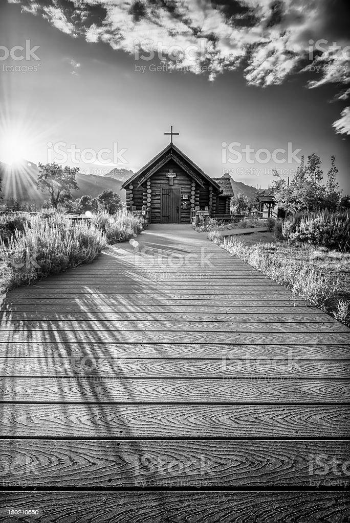 Chapel of the Transfiguration royalty-free stock photo