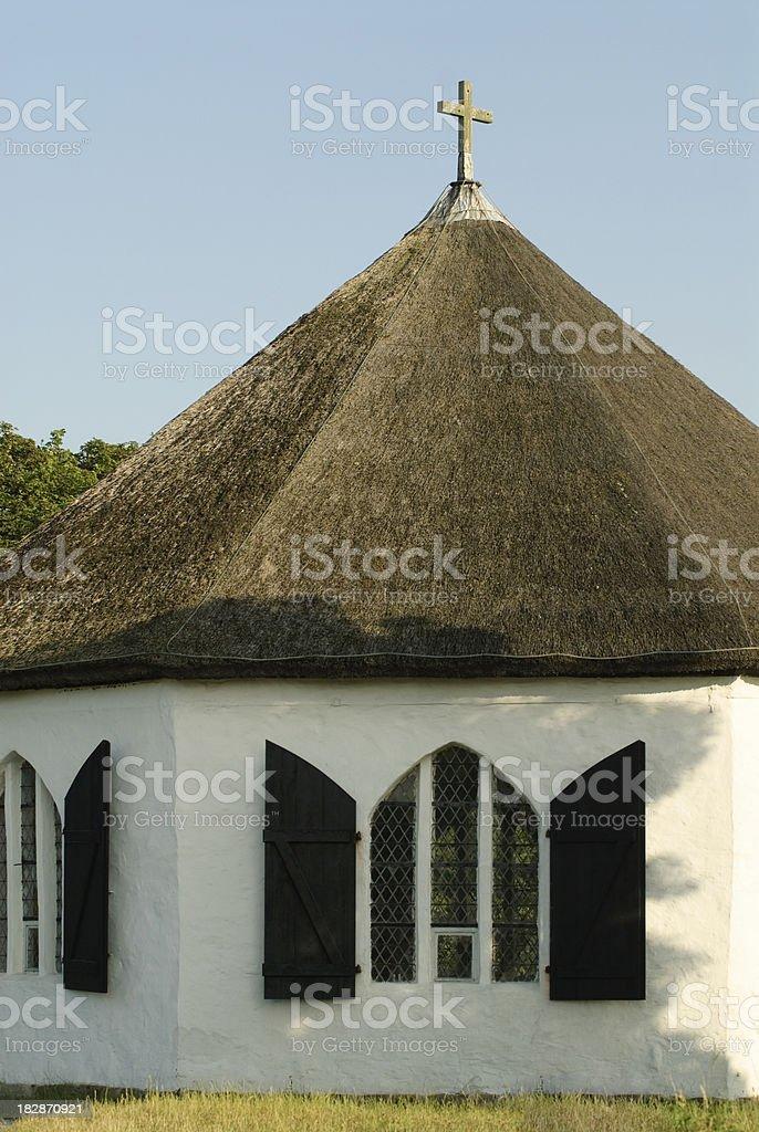 Chapel of Vitt stock photo