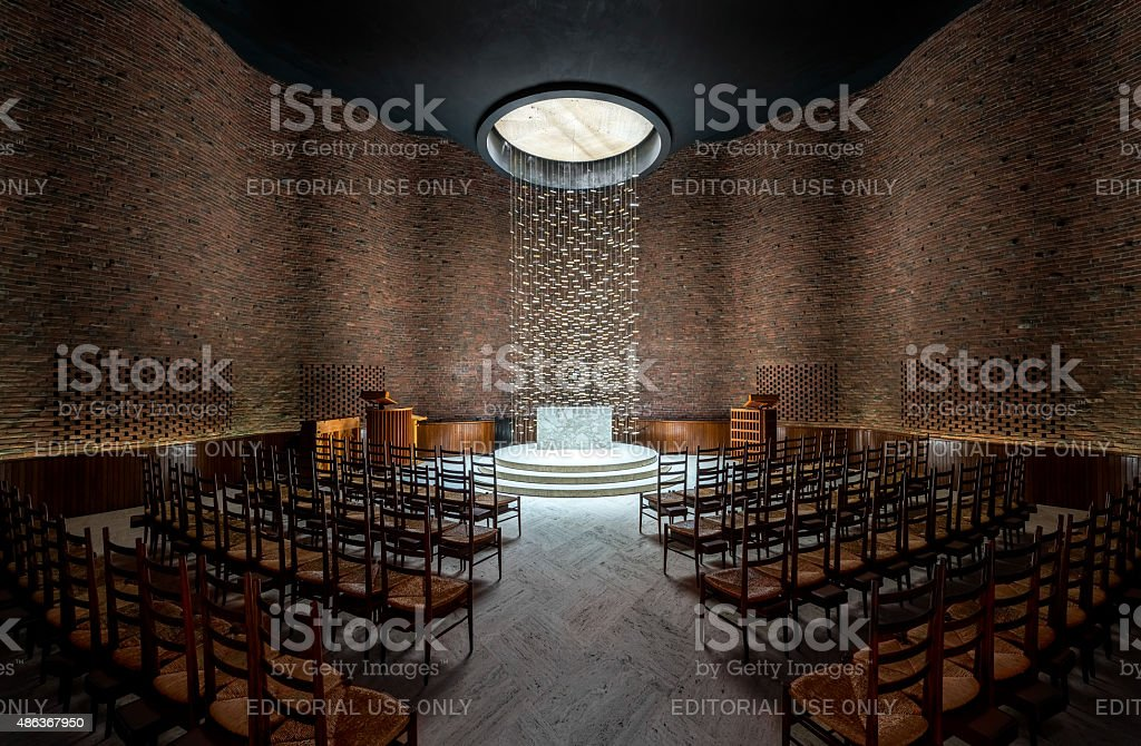 MIT Chapel stock photo