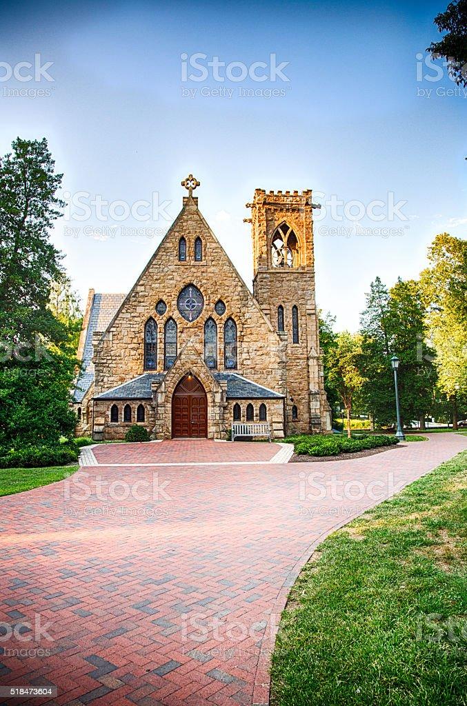 UVA Chapel stock photo