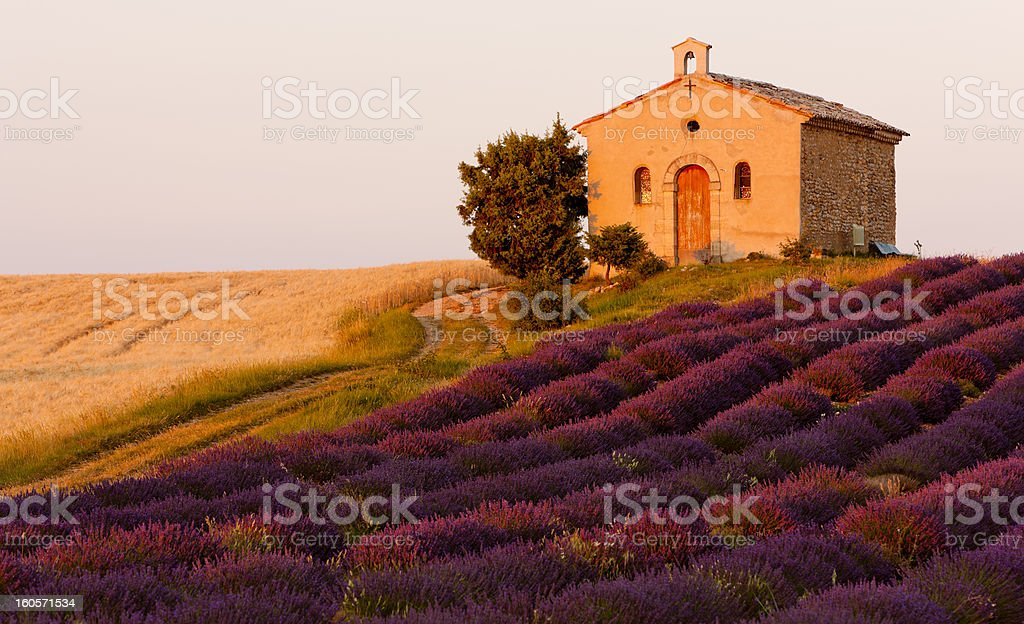 chapel, Provence royalty-free stock photo
