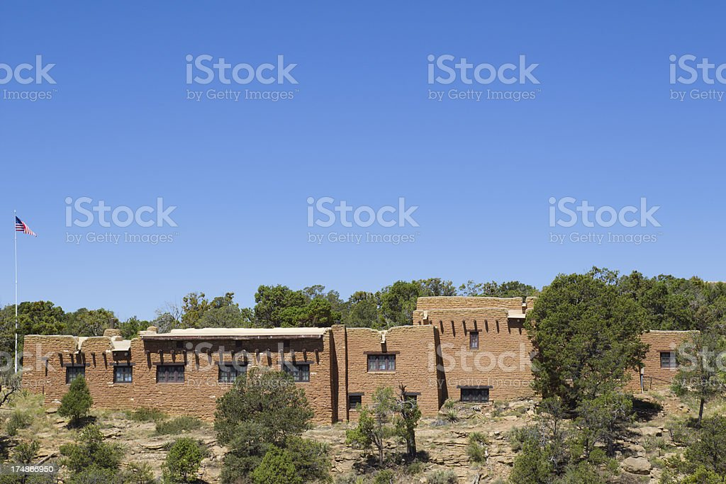 Chapin Mesa Archeological Museum - Mesa.Verde National Park, Colorado stock photo