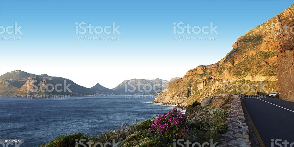 Chapman's Peak Drive stock photo
