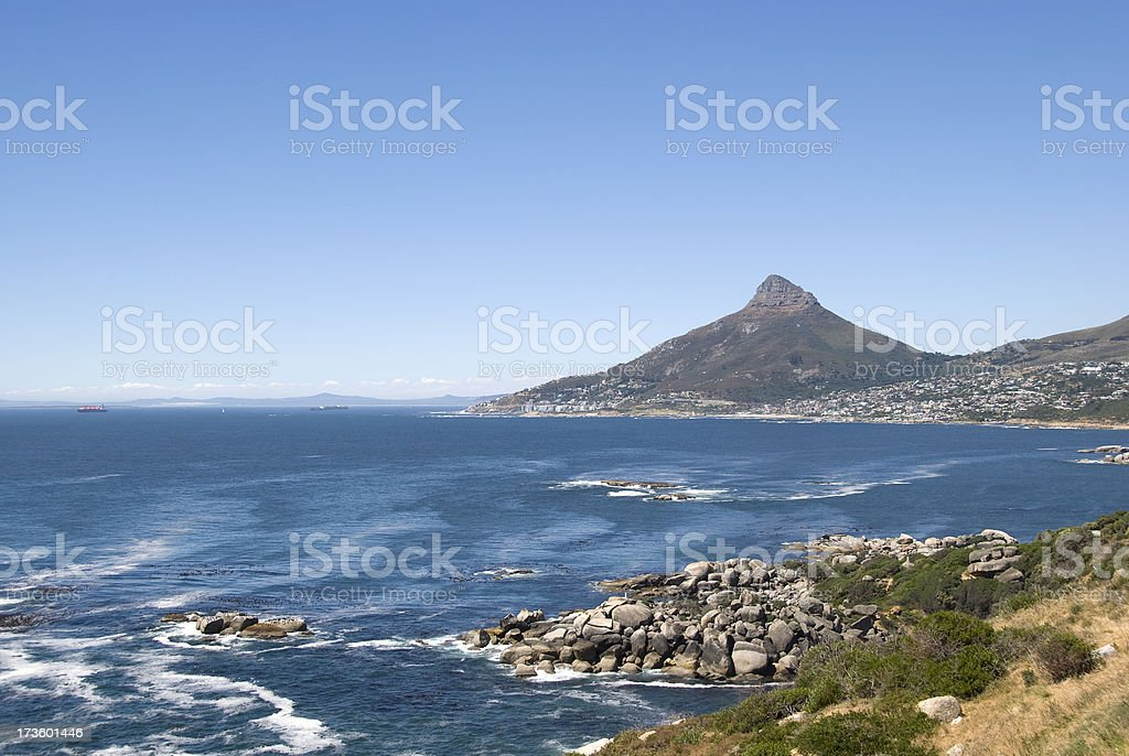 Chapman's Peak senic drive stock photo