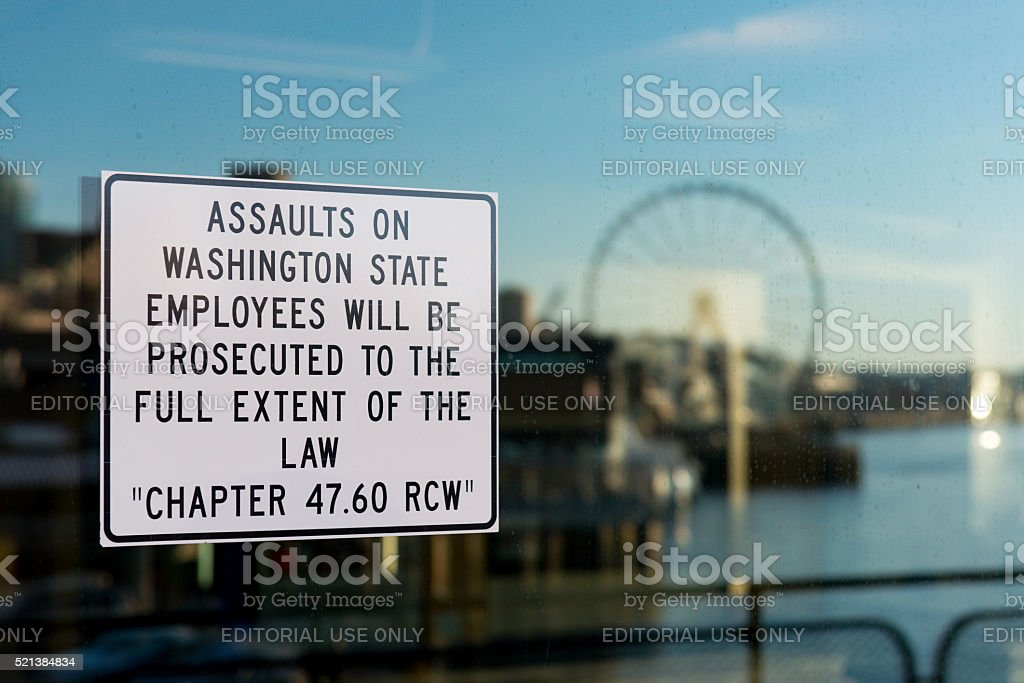 Chapter 47.60 RCW stock photo