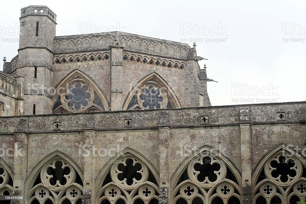 Chapter House stock photo