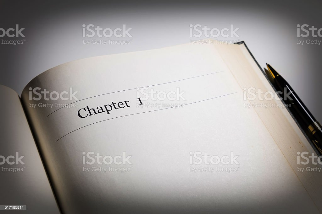 chapter one stock photo