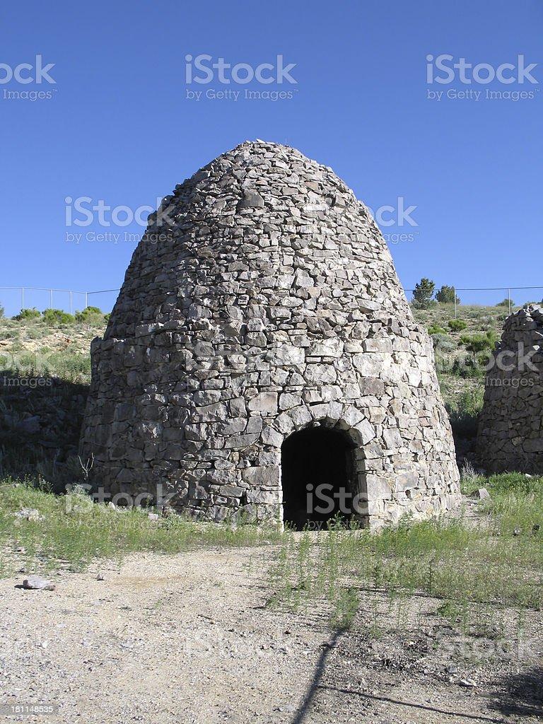 Charcoal Kiln in Frisco, Utah royalty-free stock photo