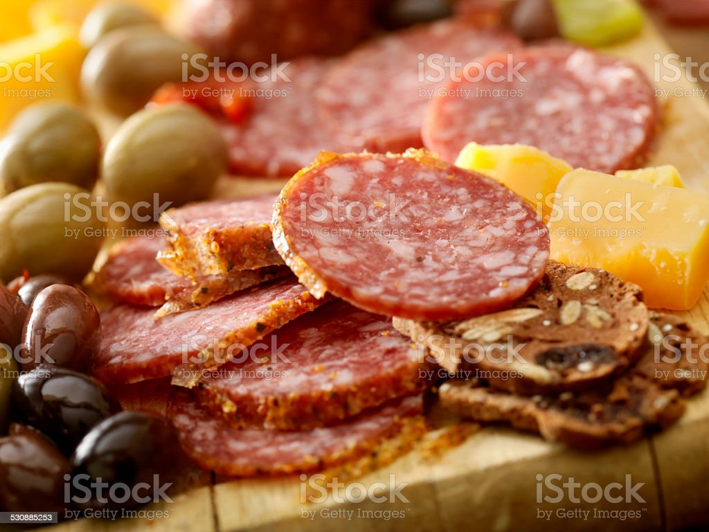 Charcuterie Board stock photo