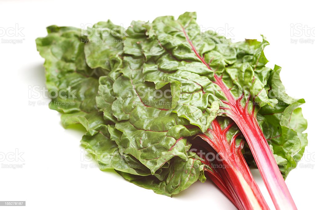 chard superfood organic natural vegetable greens royalty-free stock photo