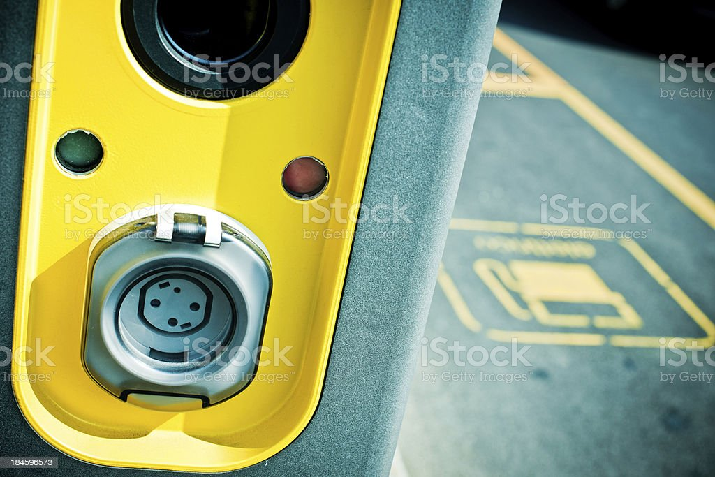Charging Point royalty-free stock photo