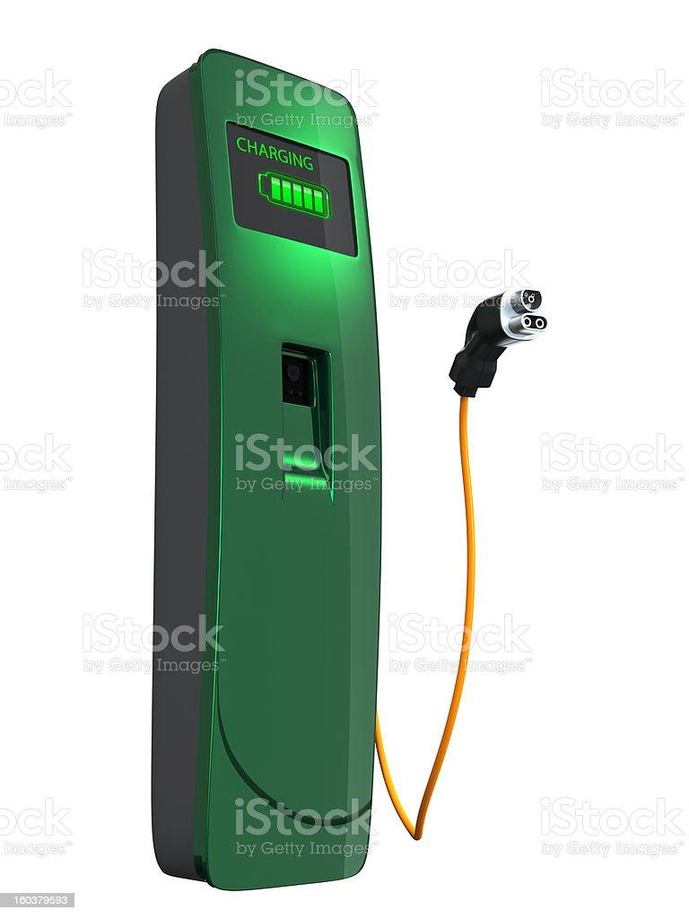 EV charging station royalty-free stock photo