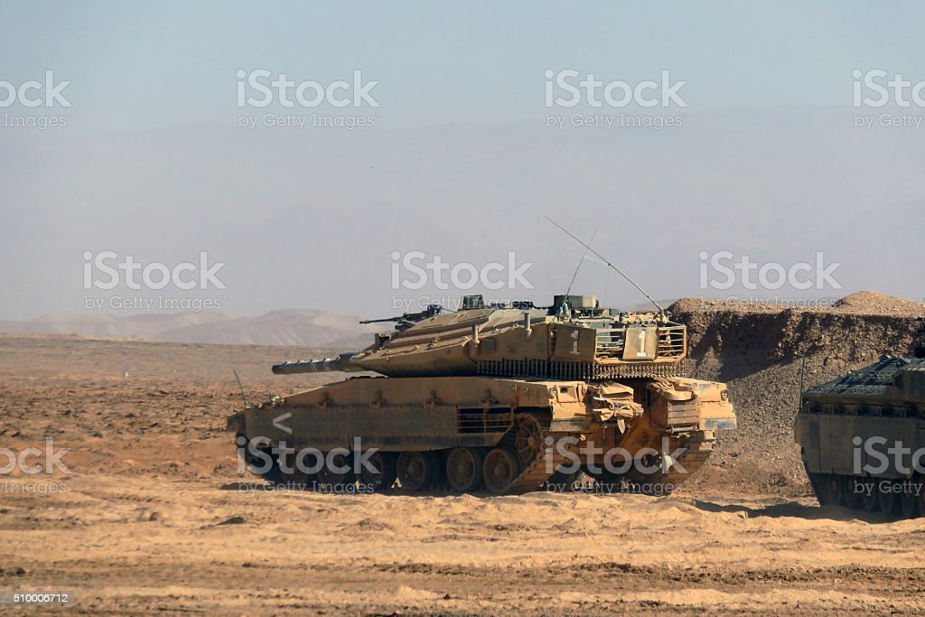 Charging tank stock photo