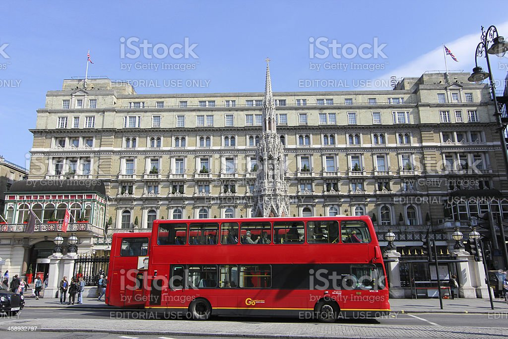 Charing Cross in London, England stock photo