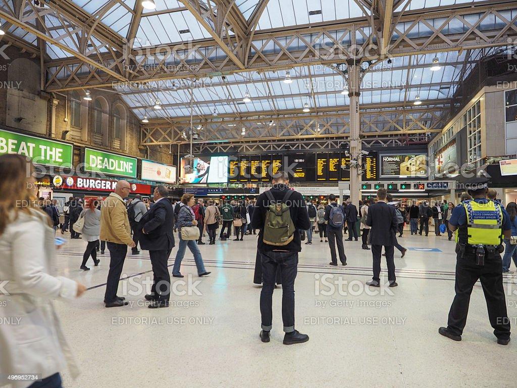 Charing Cross in London stock photo