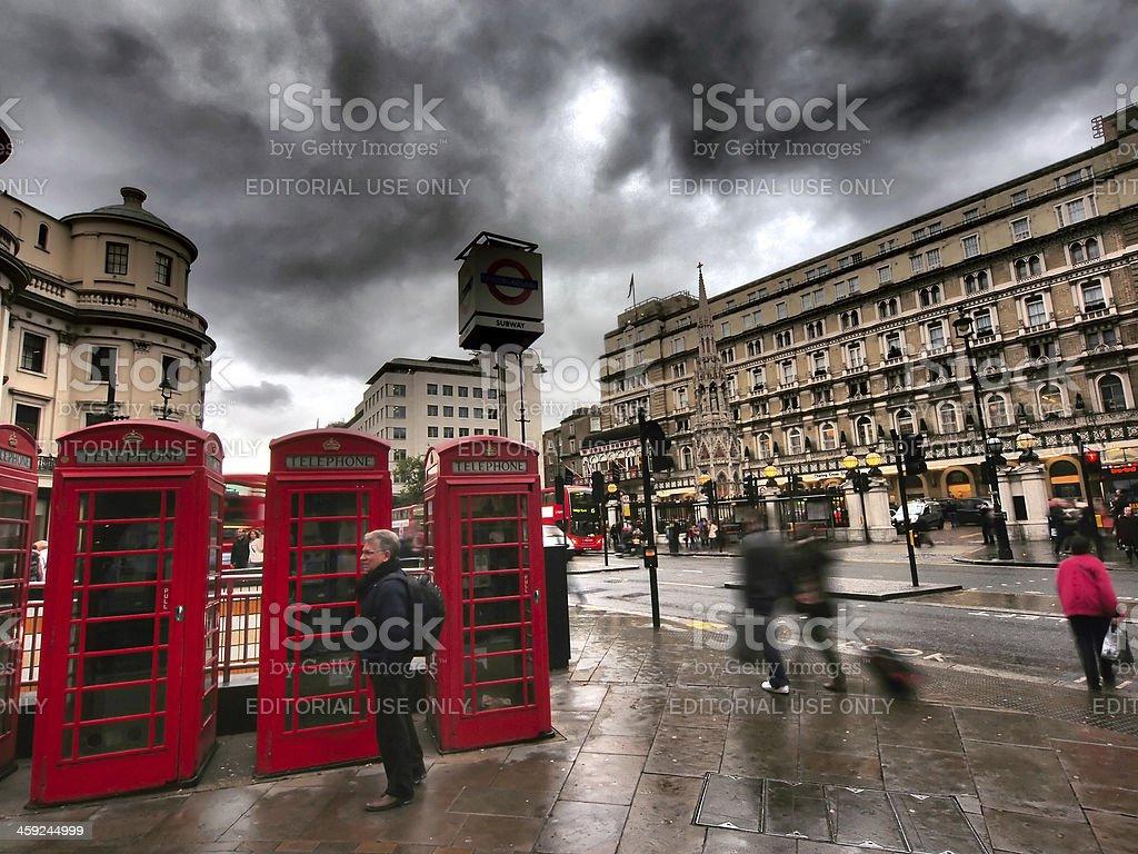 Charing Cross stock photo