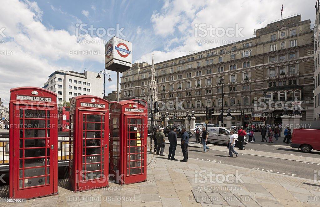Charing Cross Station stock photo