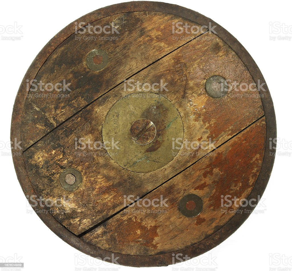 Chariot or Wagon Wheel stock photo
