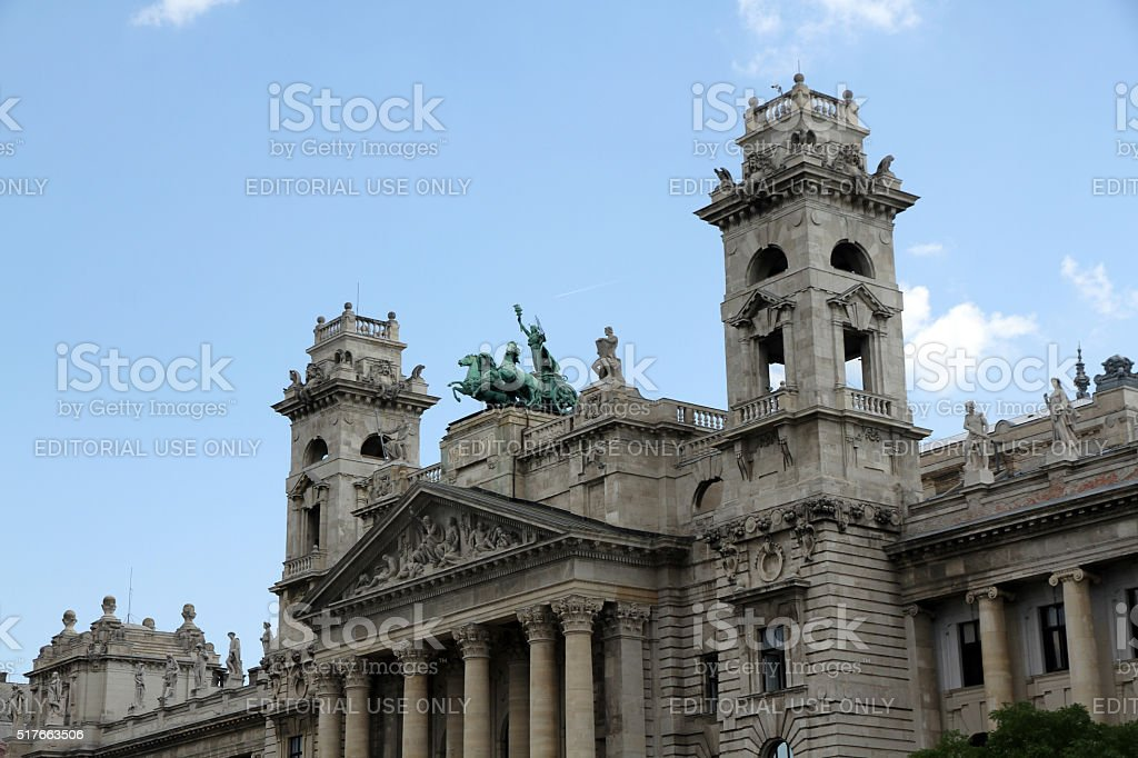 Chariots and Towers stock photo