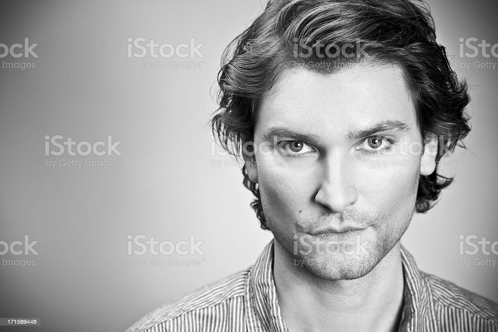 Charismatic mid adult man royalty-free stock photo