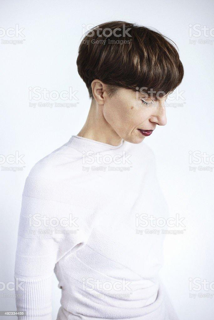 Charismatic woman royalty-free stock photo