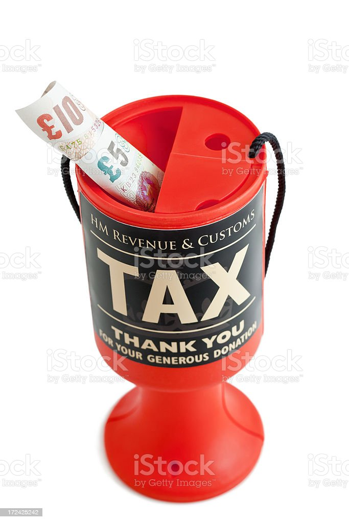 Charitable Tax Donation royalty-free stock photo