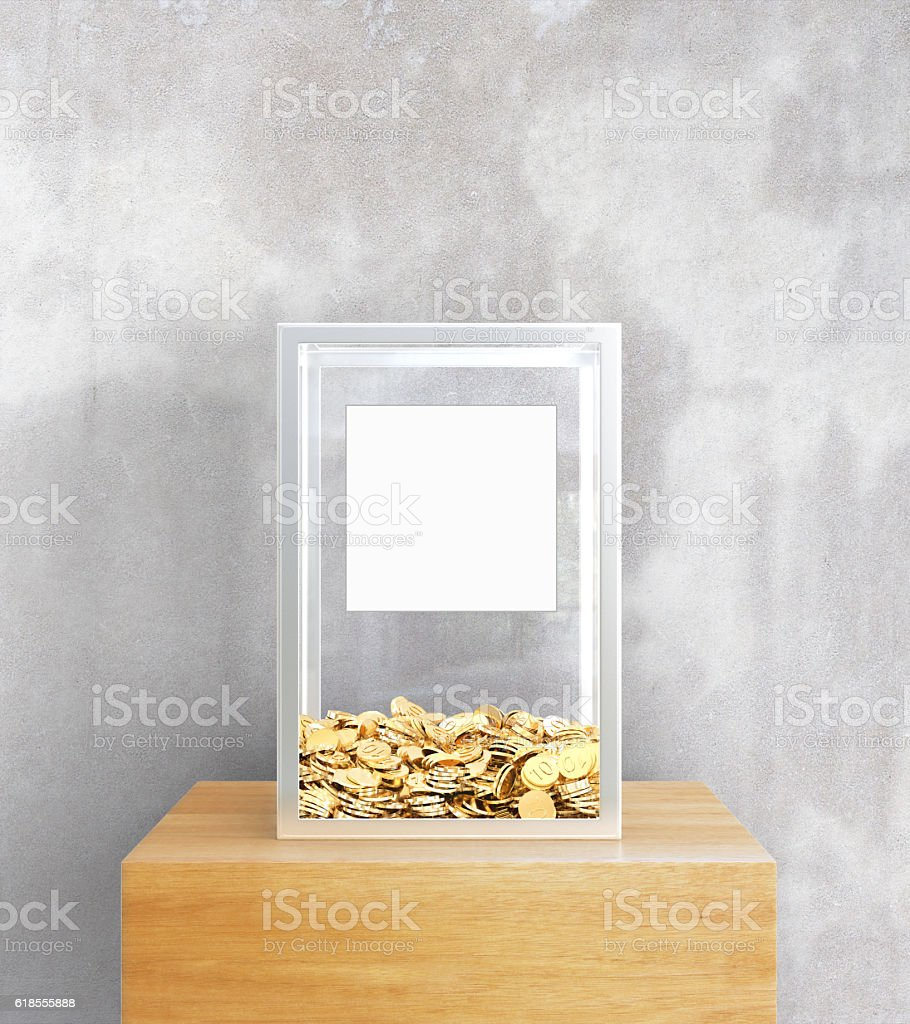 Charity concept stock photo