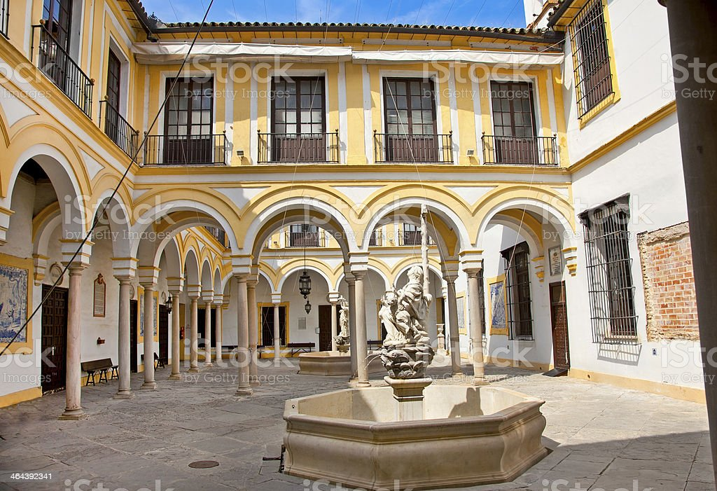 Charity Hospital in Seville, , Spain. royalty-free stock photo