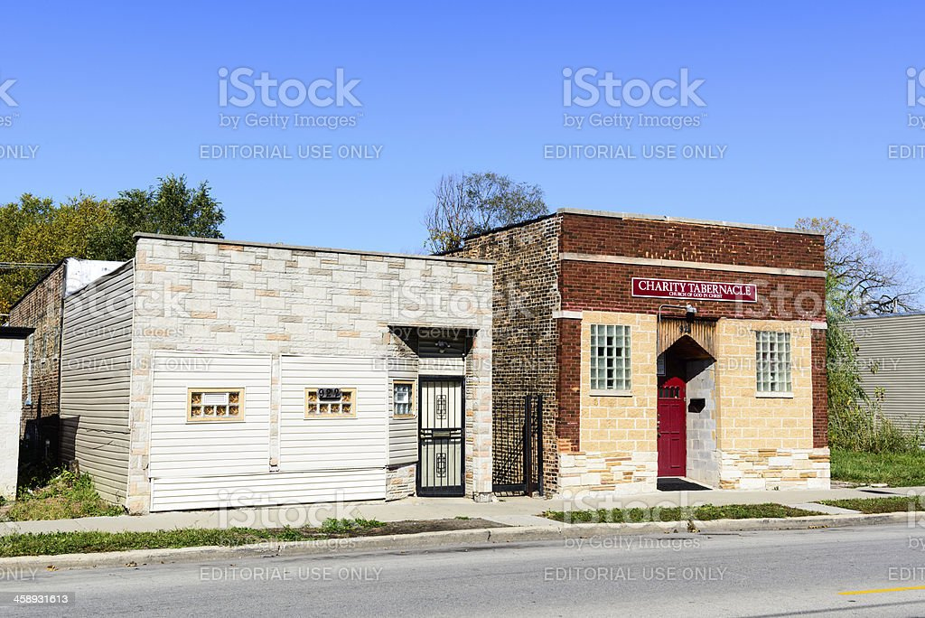 'Charity Tabernacle in Burnside, Chicago' stock photo