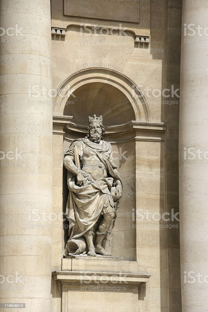 Charlemagne royalty-free stock photo