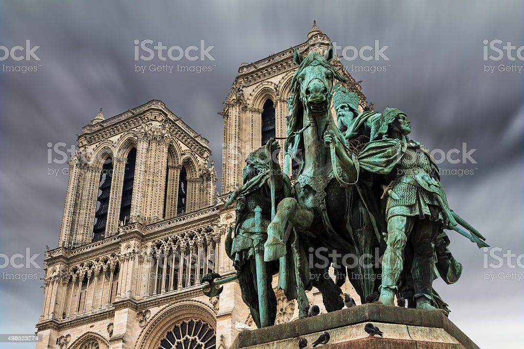 Charlemagne stock photo