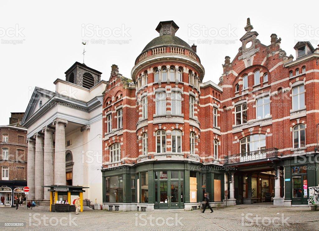 Charleroi. Belgium stock photo