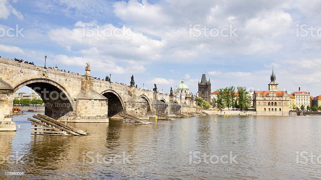 Pont Charles photo libre de droits